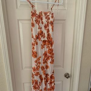 Free people maxi floral beach dress